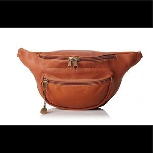 Real Leather David King & Co Leather Waist Pack